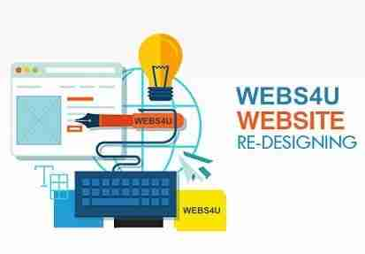 webs4u redesign site for totally new look